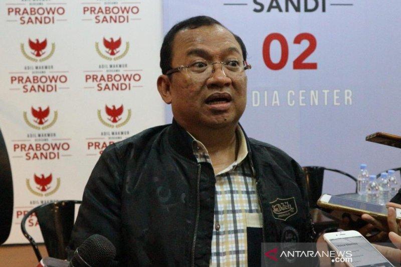 BPN Prabowo-Sandiaga kecewa dengan KPU