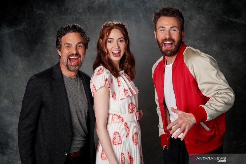Mengintip sesi foto pemeran film Avengers : End Game