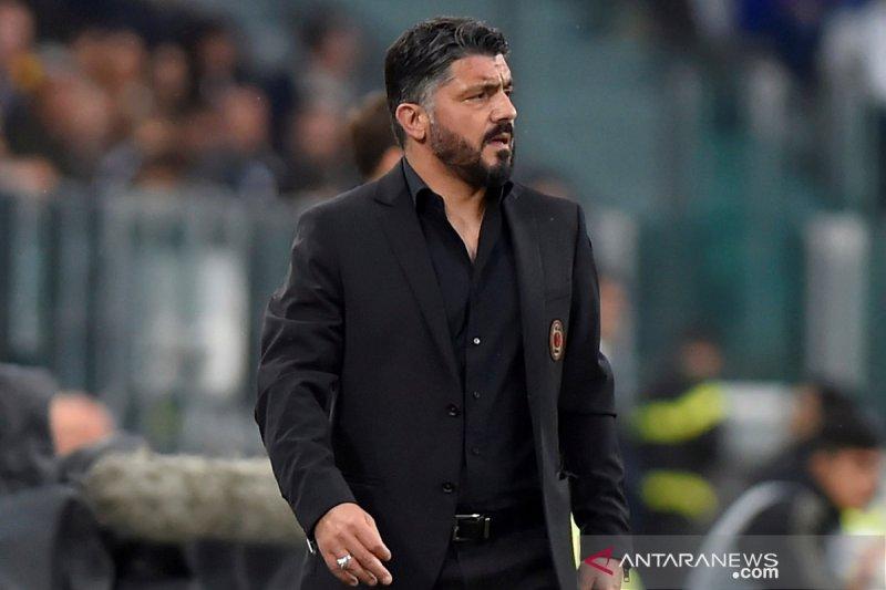 Kalah dari Juventus, Gattuso katakan tak pantas