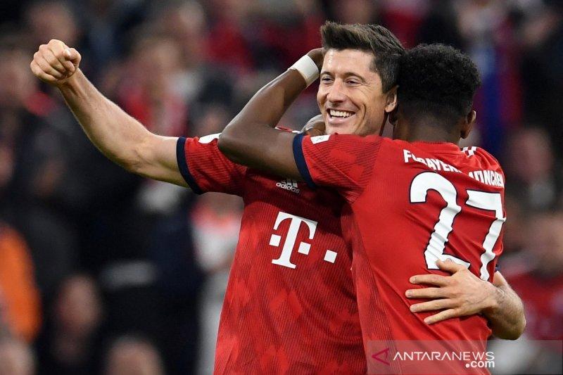 Hujan gol di Allianz Arena Muenchen puncaki klasemen