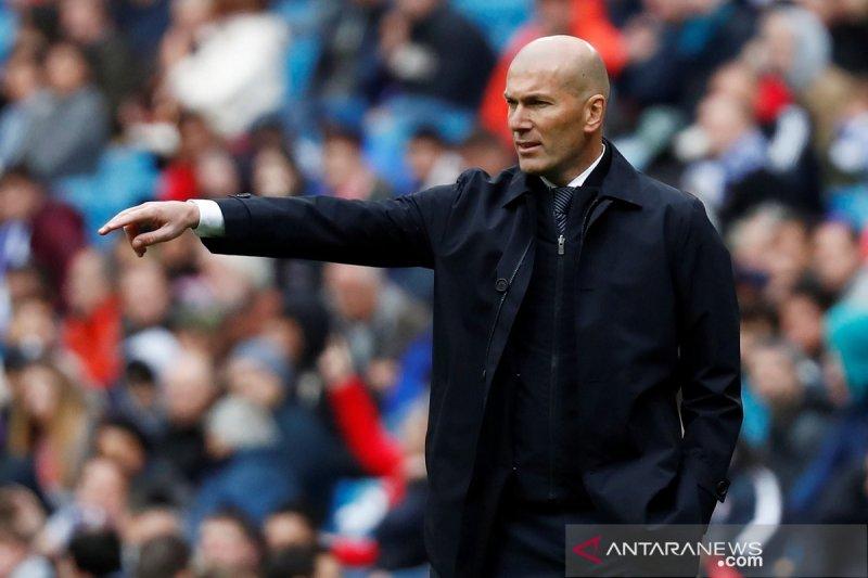"""""""Peptalk"""" Zidane yang inspirasi kebangkitan lawan Eibar"""