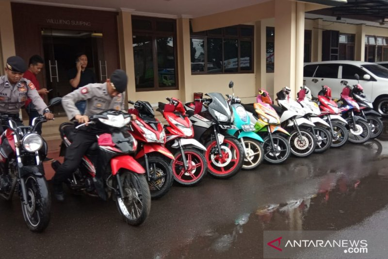 Komplotan pencuri motor sejak 2016 di Garut akhirnya terungkap