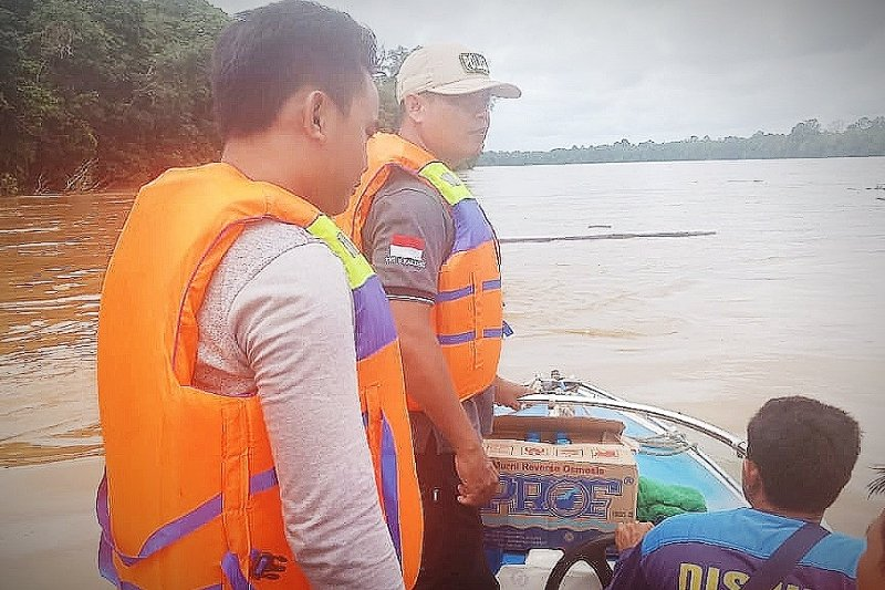 Tak sempat raih pelampung, satu ABK tenggelam di Sungai Barito