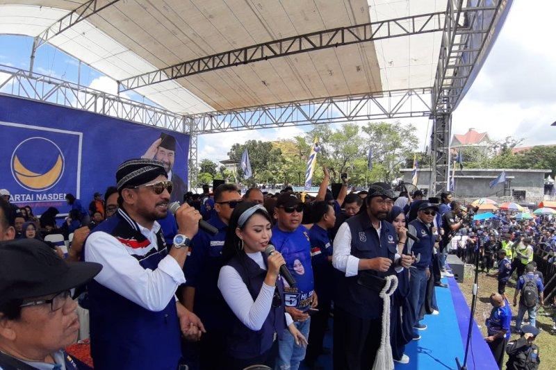 Surya Paloh Ajak warga Magetan Menangkan Jokowi-Ma'ruf
