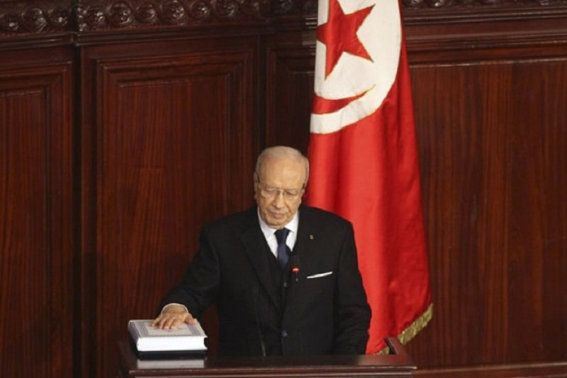 Ketua parlemen Tunisia dilantik menjadi Presiden