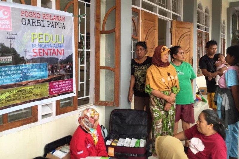 Garbi salurkan bantuan kepada korban banjir Sentani