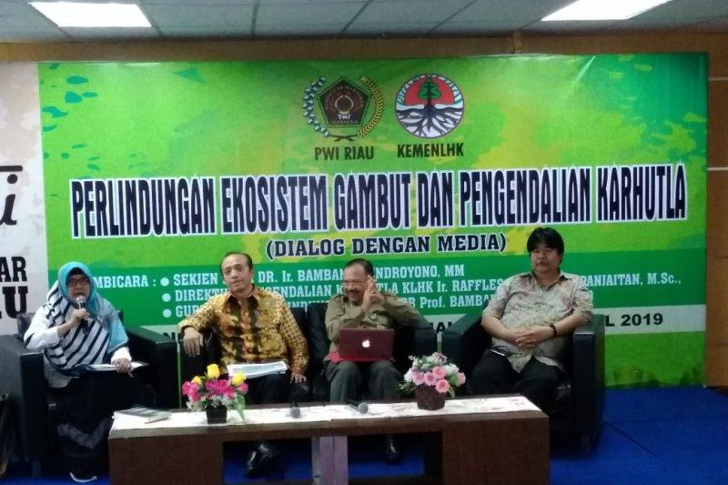 KLHK minta Pemprov Riau waspada Karhutla. Ini sebabnya