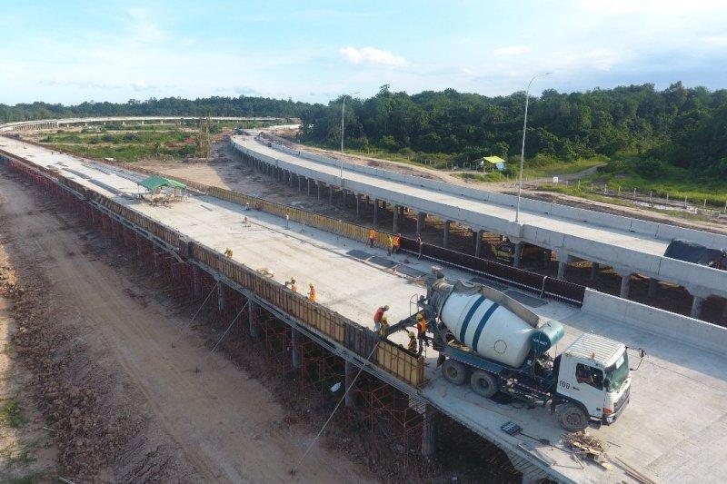 Tol Balikpapan-Samarinda ditargetkan beroperasi fungsional Mei 2019