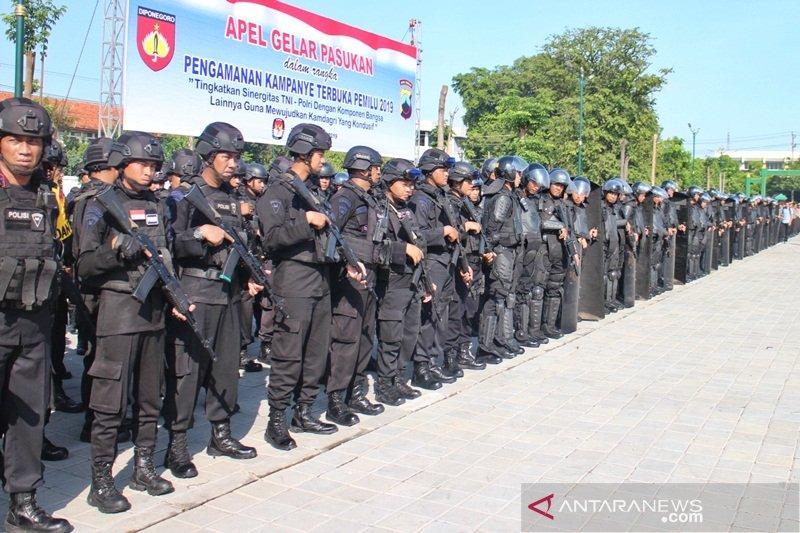 Polri-TNI siapkan 2.500 personel pengamanan kampanye terbuka