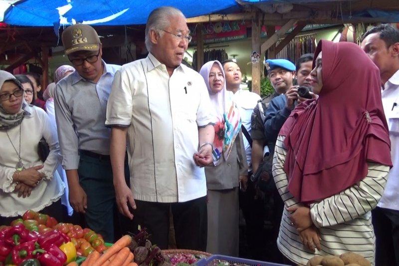 Menteri Perdagangan fokus pada kenaikan harga bawang merah