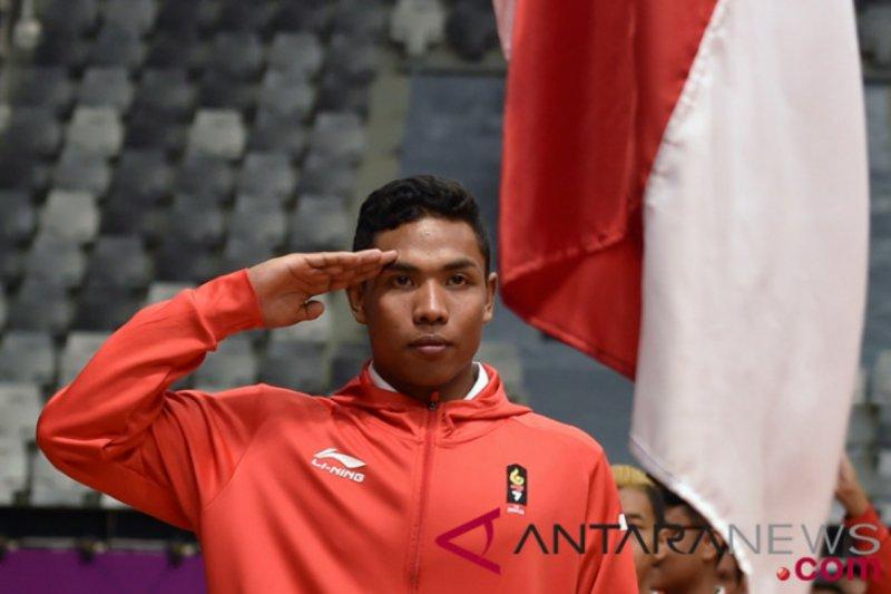 Zohri tempati peringkat ketujuh uji coba Olimpiade Tokyo