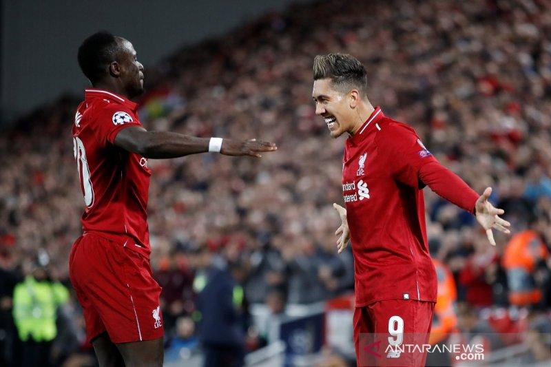 """Firmino cetak gol dan """"assist"""" untuk kemenangan Liverpool  atas Porto 2-0"""