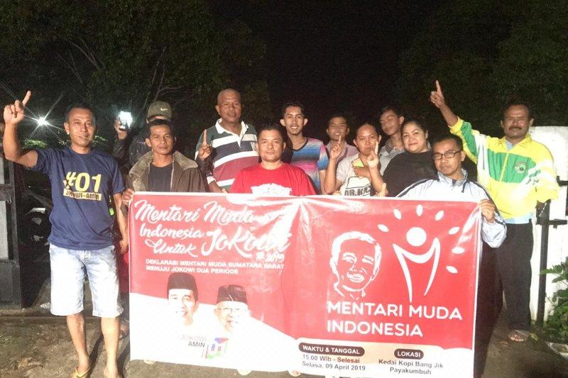Mentari Muda Indonesia Limapuluh Kota deklarasi dukung Jokowi