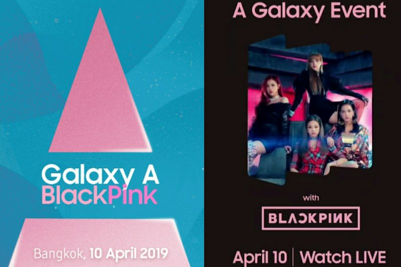 Kejutan dari Blackpink pada 'A Samsung Galaxy Event'