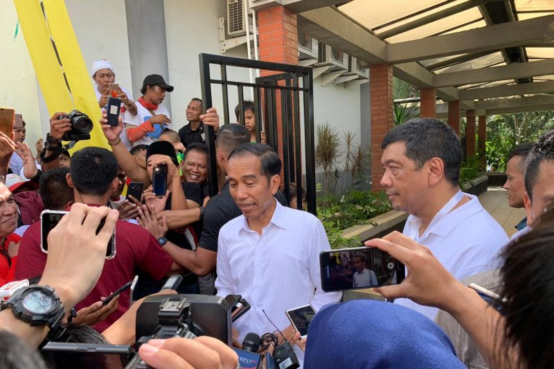 Incumbent presidential candidate Jokowi hopes for victory in West Java