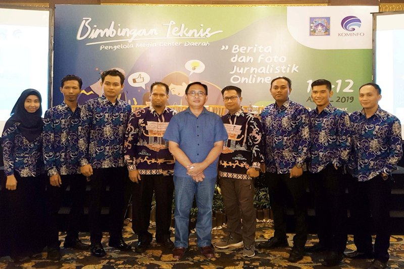 Diskominfo Kapuas belajar kelola media center di Yogyakarta