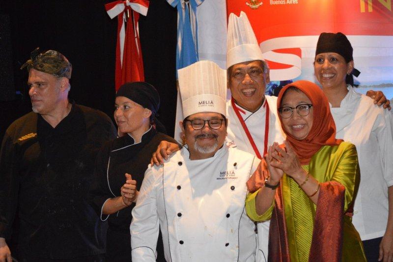 KBRI adakan festival kuliner buka pasar makanan Indonesia di Argentina