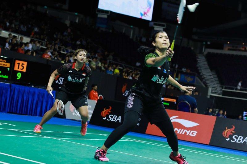 Yulfira/Jauza  tersisih di babak pertama Kejuaraan Dunia