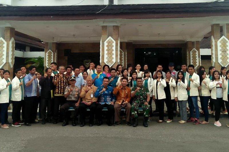 Mahasiswa IAHN  selesaikan KKN di Barito Utara
