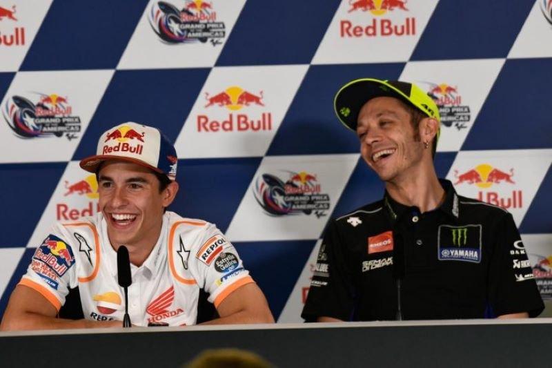 Rossi puji performa Marquez jelang  Grand Prix Thailand