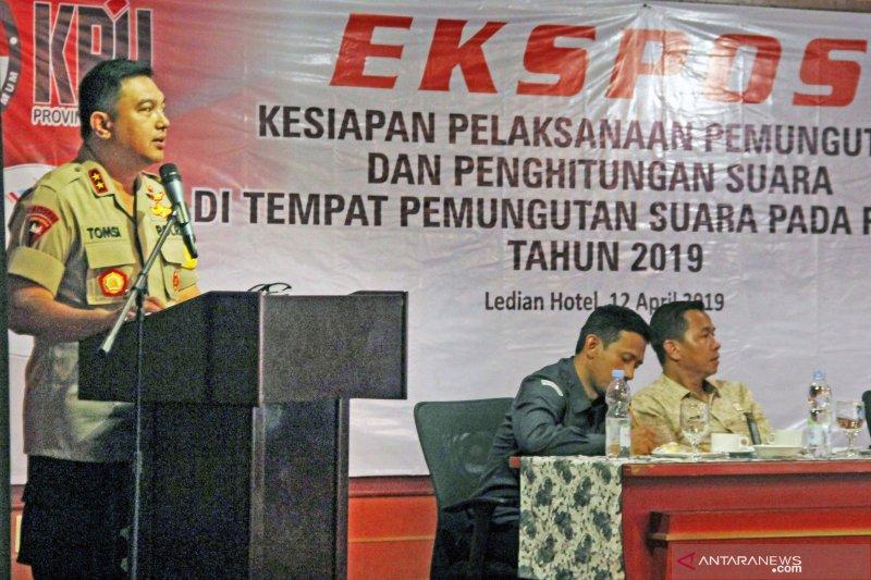 Ekspos kesiapan Pemilu di Banten