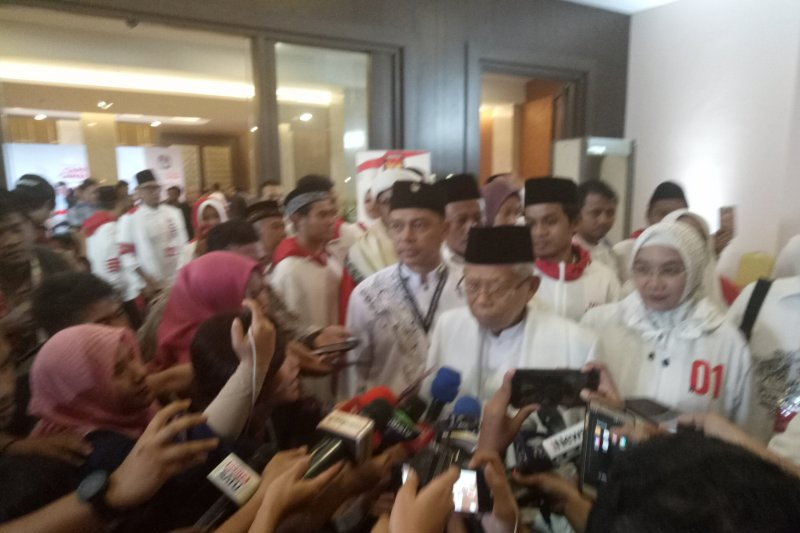 Ma'aruf Amin benarkan Jokowi laksanakan umroh