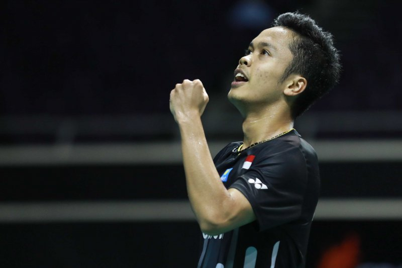 Anthony ginting juga kalah di final Singapore Open