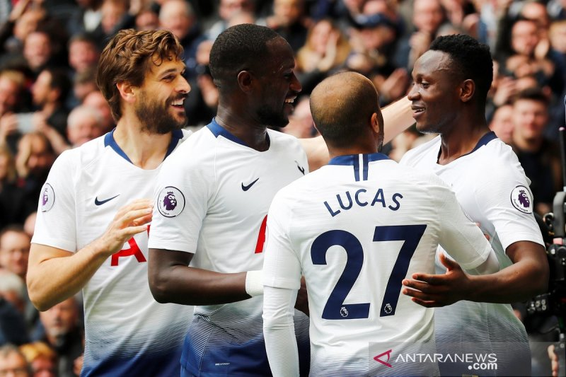 Tottenham duduki posisi ketiga klasemen Liga Inggris