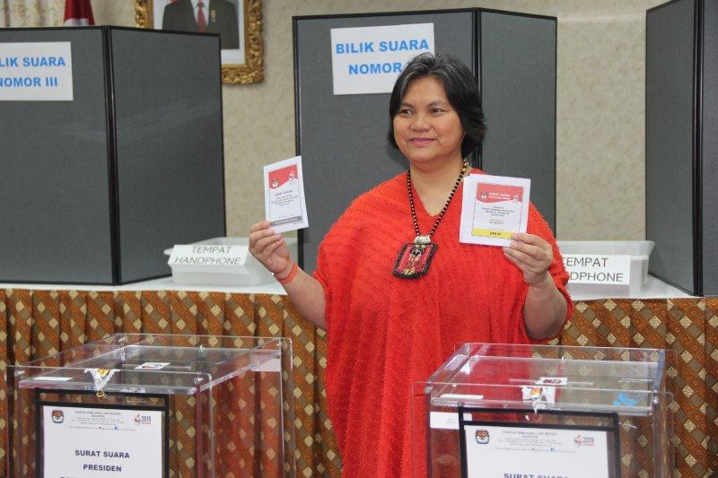 Meriahnya Pemungutan Suara di Houston: Pertunjukkan Tari Hingga Dangdutan