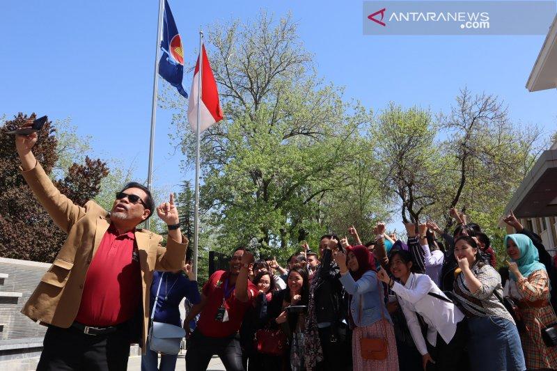 Milenial mendominasi TPS KBRI Beijing