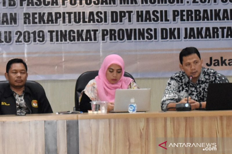 KPU DKI Tegaskan Pemilih Tak Bisa Nyoblos Bermodal e-KTP