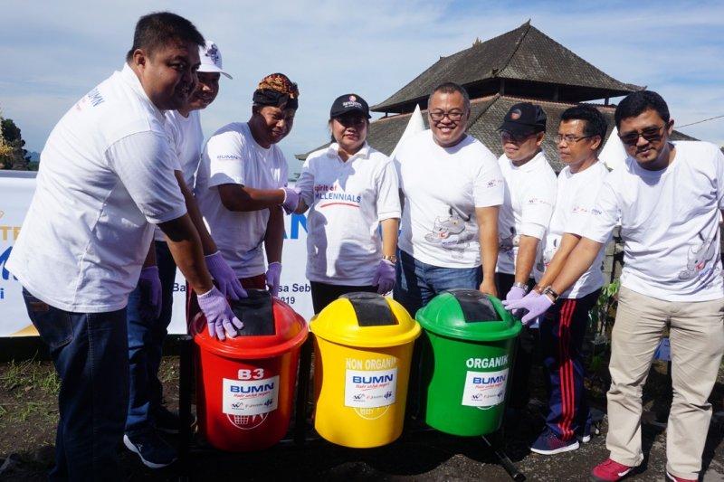 Waskita-Bahana dan DPS gelar kampung sehat di Karangasem Bali