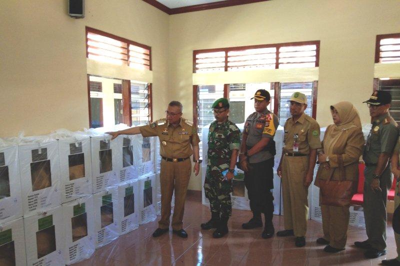 Bupati Bantul memantau proses distribusi logistik Pemilu