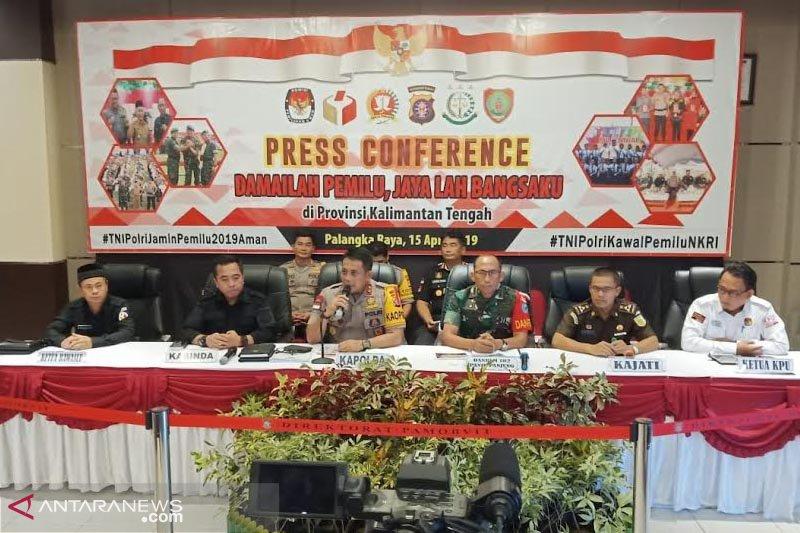TNI-Polri siap amankan jalannya pemungutan suaraPemilu 2019 di Kalteng