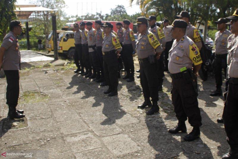 Ratusan personel disiagakan amankan Pemilu di perbatasan