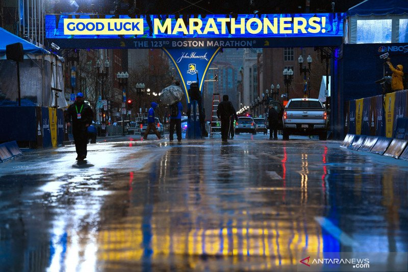 Boston Marathon batal digelar April 2021