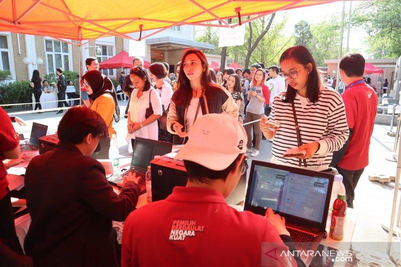 Partisipasi pemilih Pemilu 2019 di China tinggi