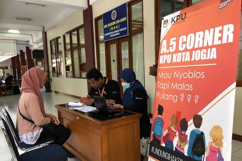 10.411 pemilih tambahan di Kota Yogyakarta tersebar di 1.133 TPS