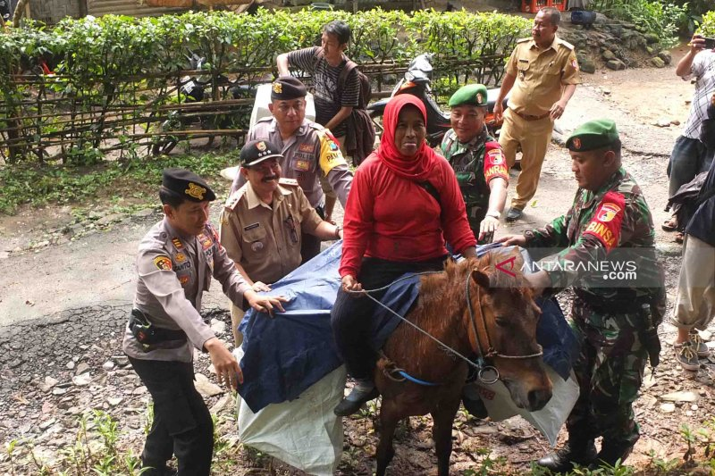 Berkuda menembus hutan TN Meru Betiri distribusikan logistik Pemilu