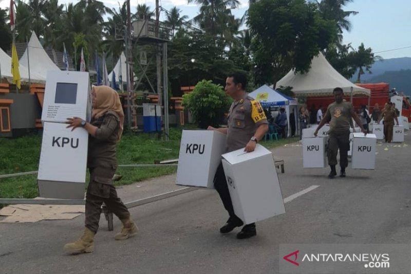 Pengiriman logistik Pemilu di Banggai dikebut