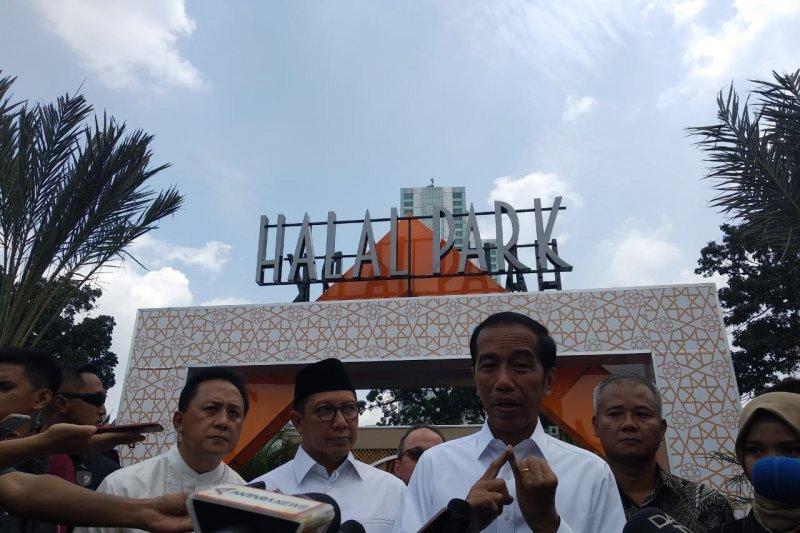 Presiden Jokowi sebut wisata halal Indonesia peringkat pertama di dunia