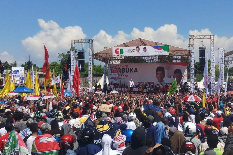 Jokowi-Ma'ruf Amin unggul 90 persen di NTT