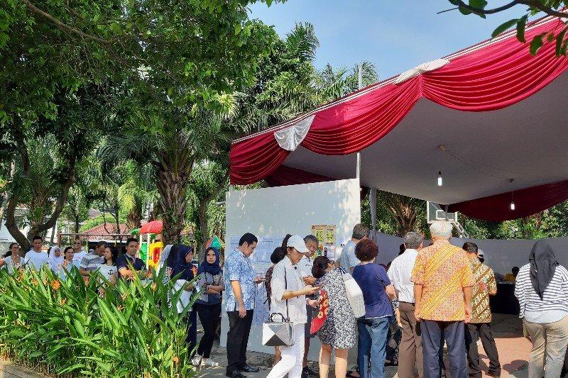 TPS tempat Menteri BUMN nyoblos padat antrean pemilih