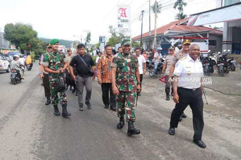 Lima panzer Kodam kawal pemilu di Papua Barat