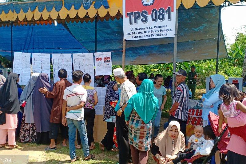KPU pastikan 21 April pemilu lanjutan di Palembang
