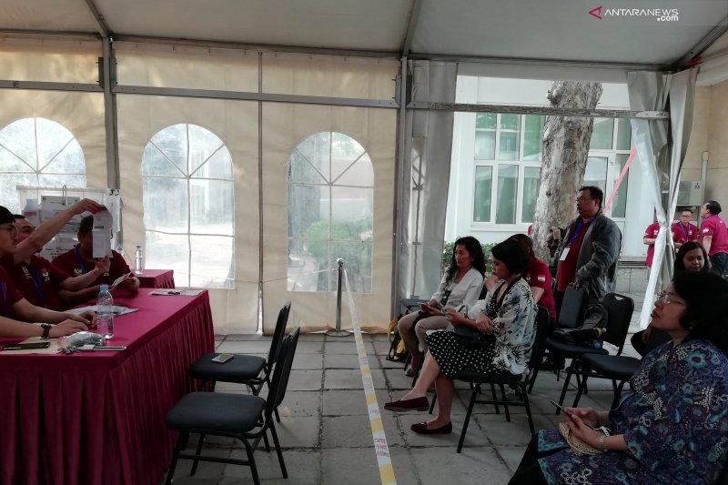 Di KBRI Beijing Jokowi-Ma'ruf unggul