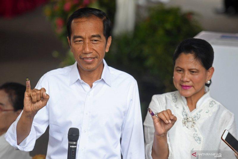Jokowi sementara unggul hitung cepat sejumlah lembaga survei