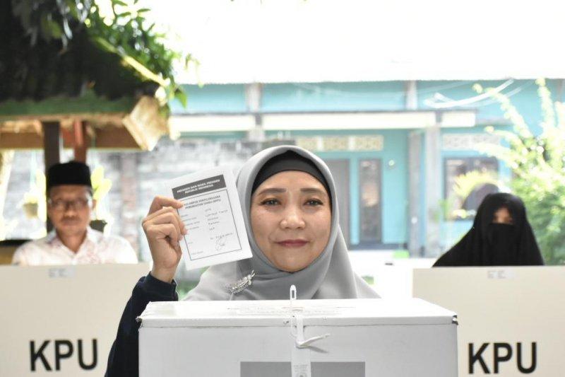 Prabowo unggul di TPS Wakil Gubernur NTB