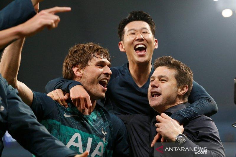 Liga Champions, Tottenham susul Liverpool berkat gol tandang