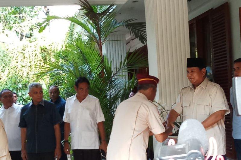 Purnawiran laporkan hasil pemilu ke Prabowo